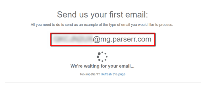 how to use an email parser to put invoice data extraction on
