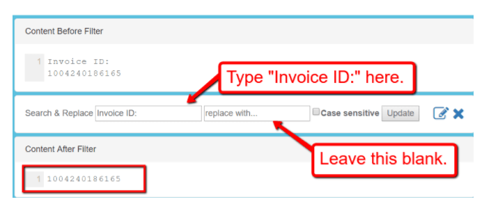 invoice data extraction